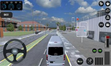 奔驰小巴模拟器安卓版(Minibus Games)