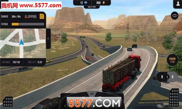 模拟卡车真实驾驶手机版截图2