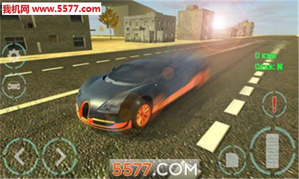 豪车模拟驾驶安卓版(Luxury Car Simulator)截图2