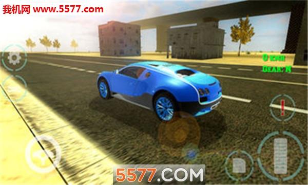 豪车模拟驾驶安卓版(Luxury Car Simulator)截图1