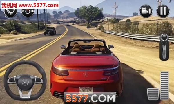 奔驰模拟驾驶游戏(奔驰模拟驾驶汽车)截图1