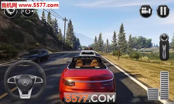 奔驰模拟驾驶游戏(奔驰模拟驾驶汽车)截图2
