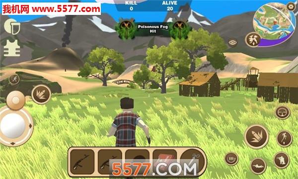 迷你恐龙世界3吃鸡战场苹果版截图0