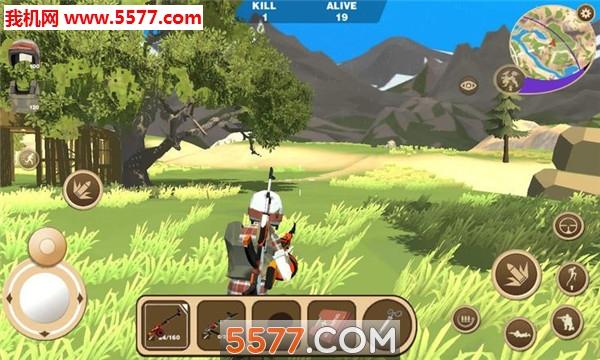迷你恐龙世界3吃鸡战场苹果版截图1