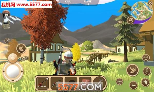 迷你恐龙世界3吃鸡战场苹果版截图2