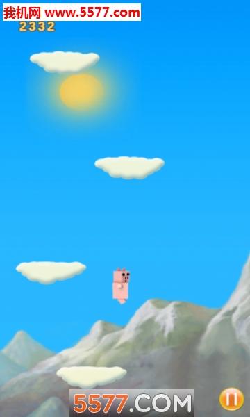 宠物小猪跳跳游戏截图0