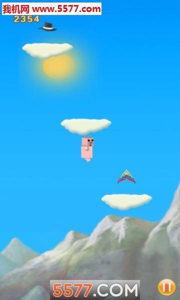 宠物小猪跳跳游戏截图1