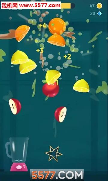 爆汁切水果游戏截图0