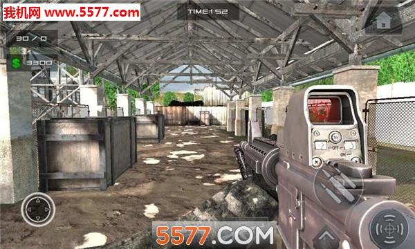 现代战斗打击FPS手游截图0