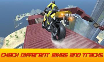 不可能的摩托车天空比赛安卓版