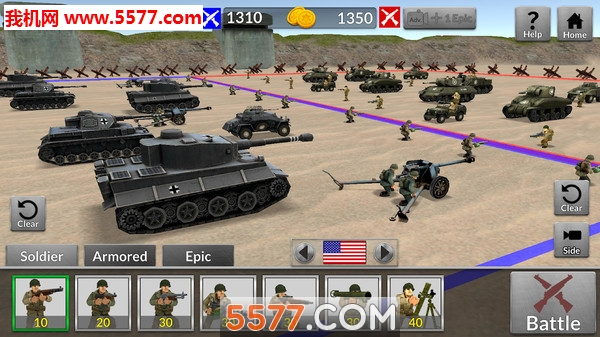 二战坦克对轰安卓版截图0