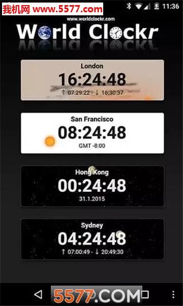 文字云时钟word clock安卓版截图1