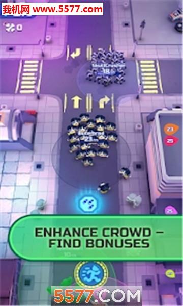 crowd royale安卓版(拥堵年夜逃杀)截图0