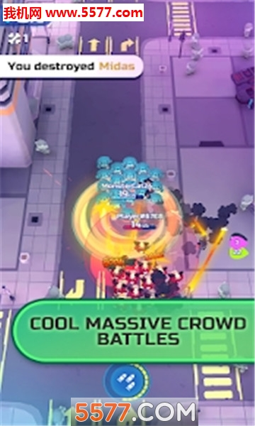crowd royale安卓版(拥堵年夜逃杀)截图1