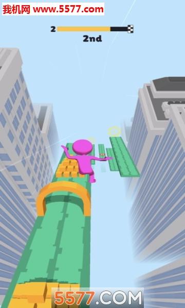 抖音Fall Race 3D�O果版截�D0