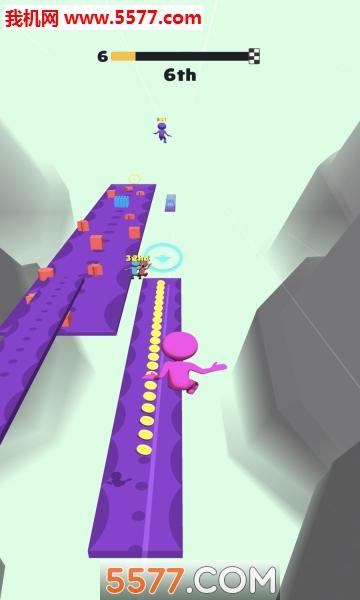 抖音Fall Race 3D�O果版截�D4