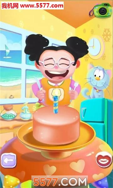 儿童做蛋糕游戏安卓版截图2