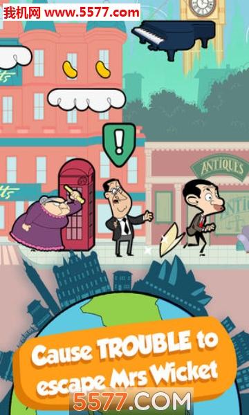 Mr Bean Around the World安卓版截图4
