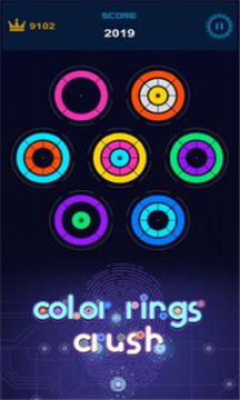 color rings crush安卓版(色环挤压)