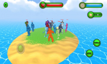 Flat Human Gangs Fall Fight苹果版