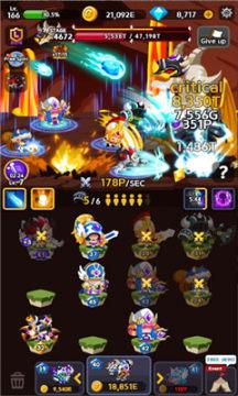 合并英雄边界安卓版(Merge Heroes Frontier)