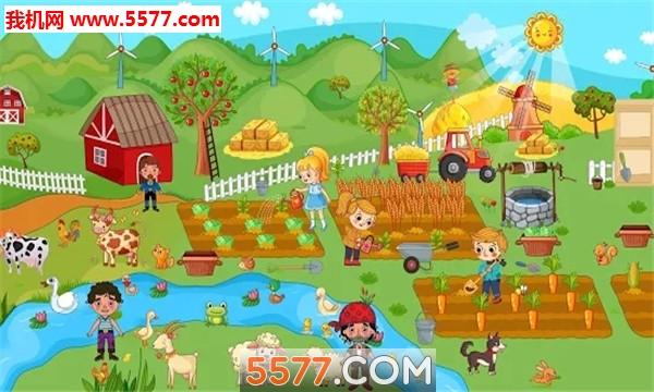 假装玩村庄生活有趣的农场世界安卓版截图2