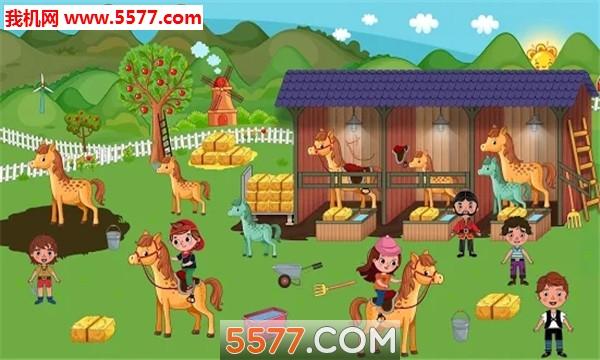 假装玩村庄生活有趣的农场世界安卓版截图3