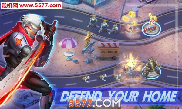 战争英雄攻略td(ultimatewarherotdgame)安卓版最囧游戏2终极9关图片