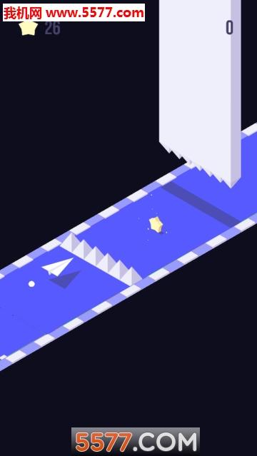 方块纸飞机安卓版截图0