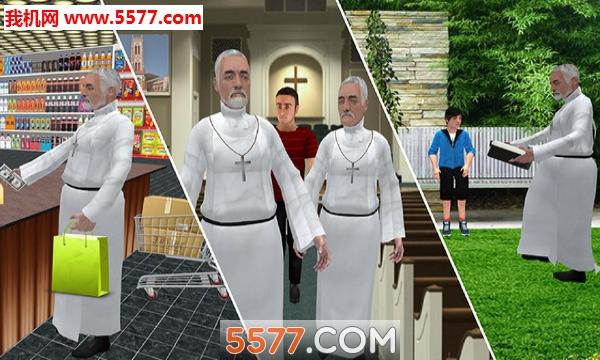 虚拟圣父模拟器安卓版截图1