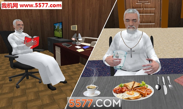 虚拟圣父模拟器安卓版截图2