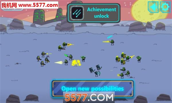 太空入侵防御战安卓版截图0