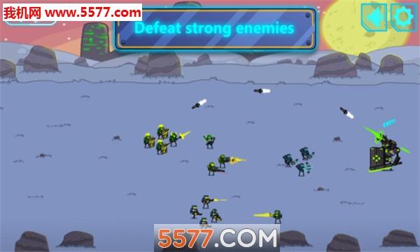 太空入侵防御战安卓版截图1
