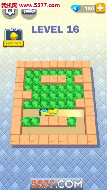 杂草迷宫安卓版(Maze Weeder)截图2