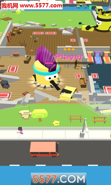 Dust Buster: Bumper Battle 3D苹果版截图2