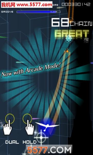 Groove Coaster 2 Original Style手机版截图0