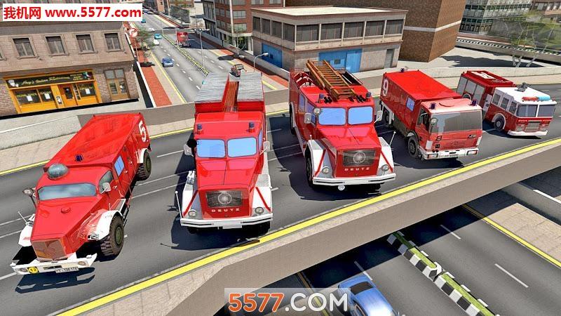 消防车模拟器2019安卓版截图0