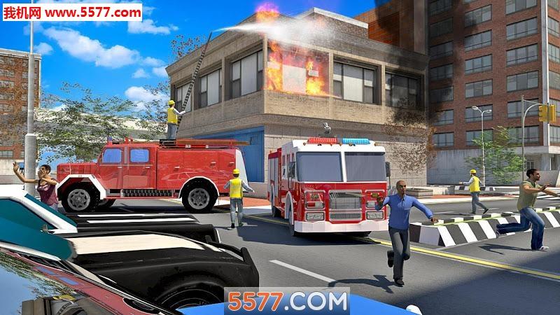 消防车模拟器2019安卓版截图2