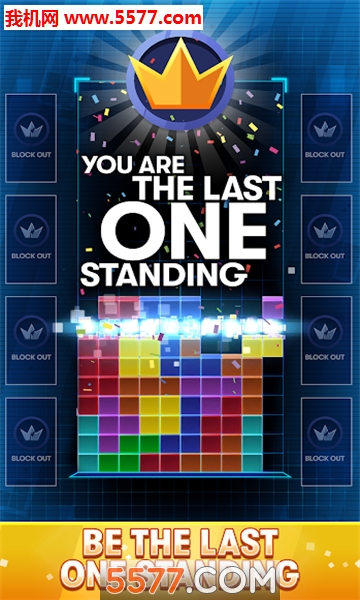 tetris royale游戏(俄罗斯方块大逃杀)截图1
