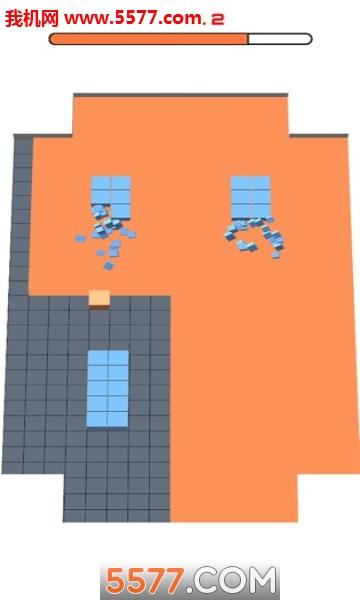 Cube Fill 3D苹果版截图2