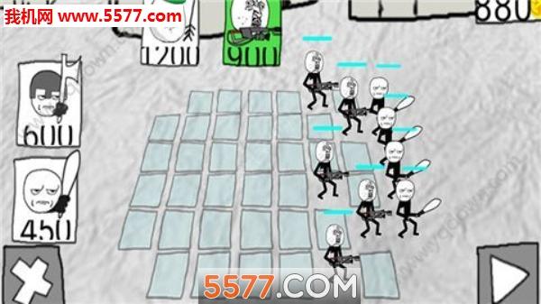 漫画暴走战争模拟安卓版截图1