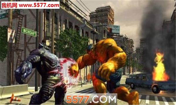 怪兽对战蜘蛛侠安卓版截图0