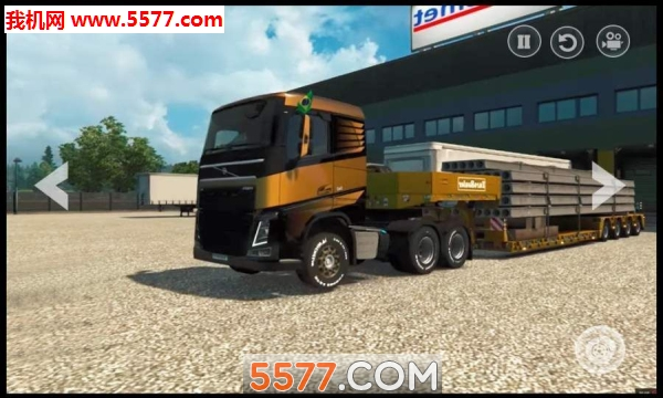 记录卡车驾驶模拟器安卓版截图1