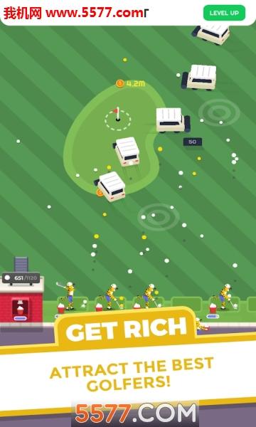 Golf Inc Tycoon无限金币版