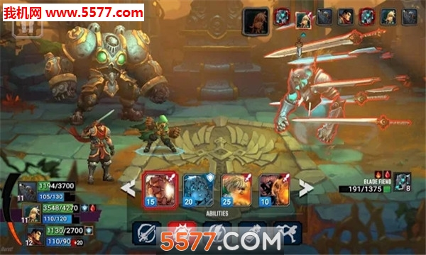 Battle Chasers Nightwar手游手机版截图0
