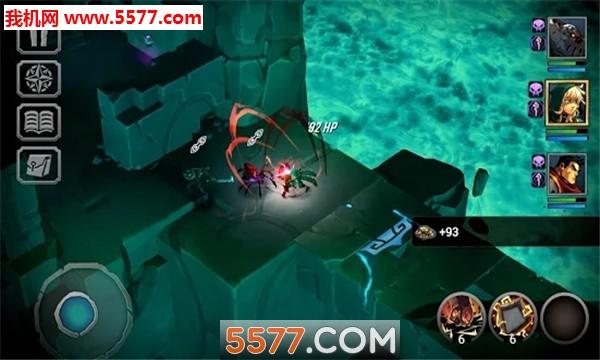 Battle Chasers Nightwar手游手机版截图3