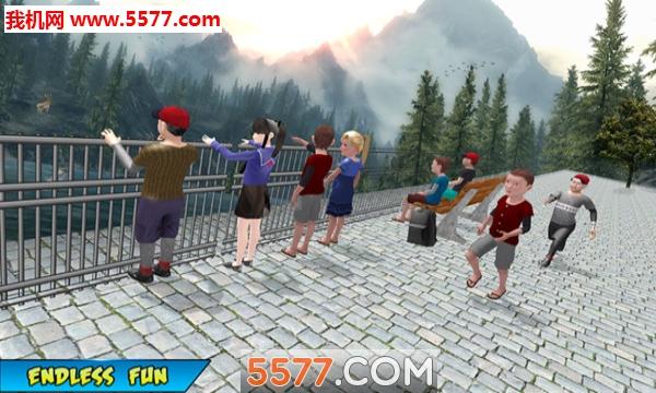 学校儿童丘陵野餐冒险安卓版截图0
