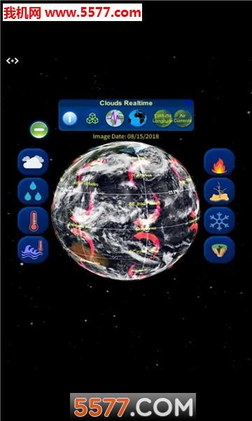 3D地球气候展示软件截图0