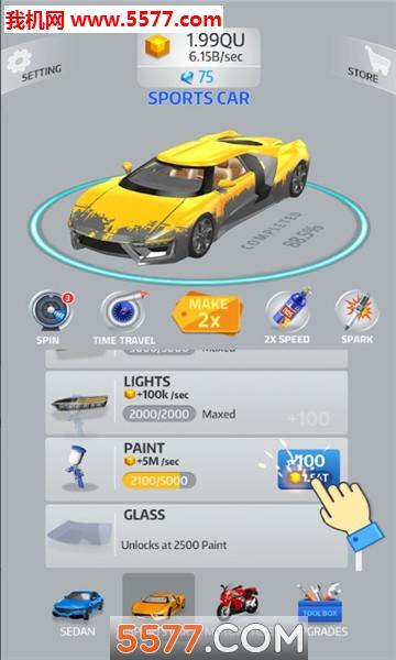 idle car安卓版(汽车组装)截图1