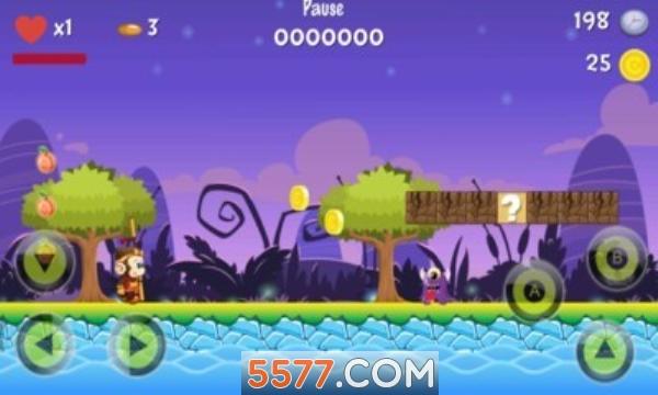 超级猴子大冒险安卓版截图0